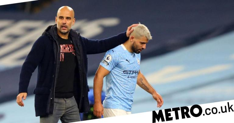Pep Guardiola gives worrying update on Sergio Aguero injury