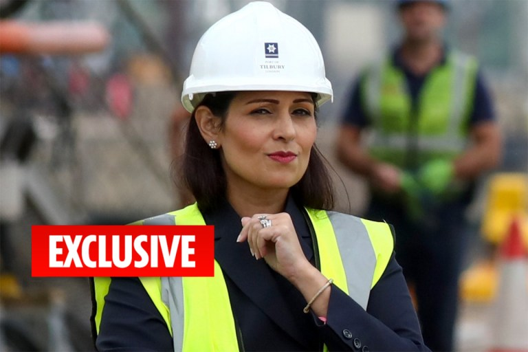 Priti Patel rejects her own immigration advisers' calls to open Britain's borders to cheap foreign brickies after Brexit