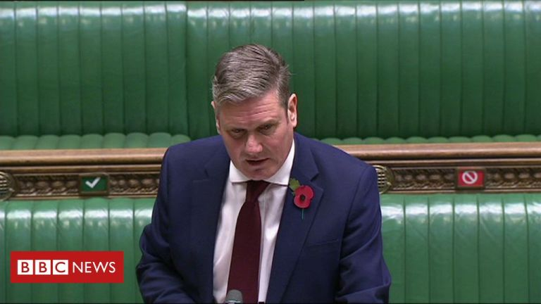 'Inaction' has led to harder lockdown, says Keir Starmer