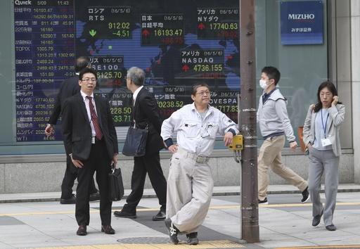Asia shares follow Wall Street higher on US gridlock bets