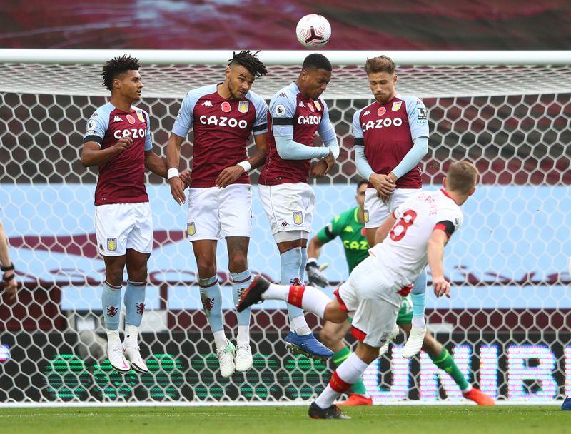 © Reuters. Premier League - Aston Villa v Southampton