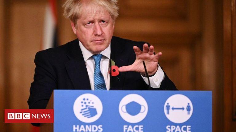 Coronavirus: Boris Johnson stresses 'stay at home' message for England