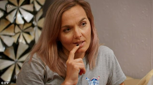 Raging:Victoria Pendleton couldn't hide her fury during Thursday's Don't Rock The Boat, as the blue team were finally victorious after days of poor form