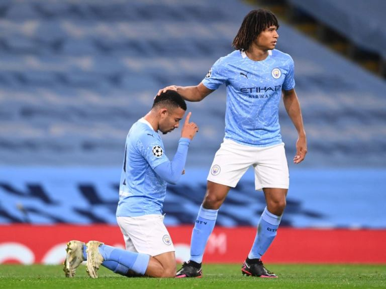 Gabriel Jesus provides Man City with cutting edge in victory over stubborn Olympiacos