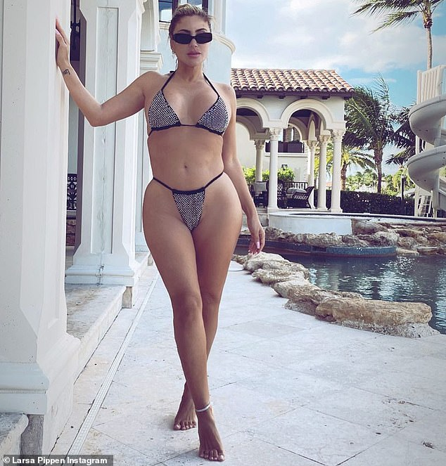 For the good of the country:The United States woke up in a state of anxiety on Wednesday morning as the presidential election has still not been called. But Larsa Pippen seemed to find a way to get everyone's mind off the drama: the star posted a very alluring pinup image