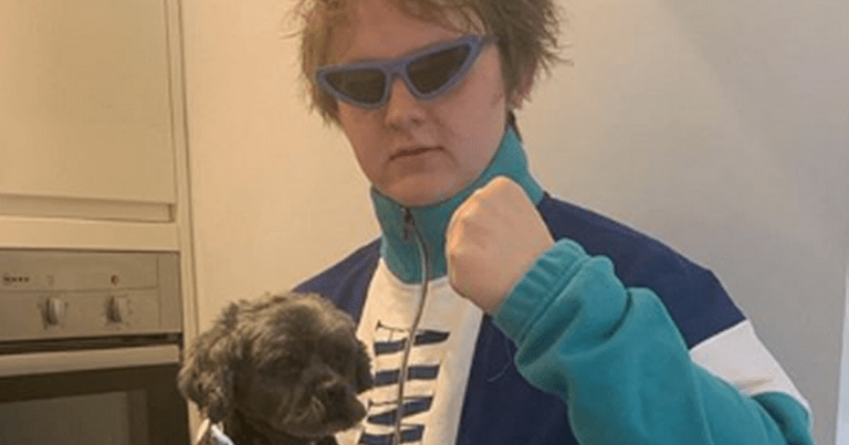Lewis Capaldi heartbroken at death of dog as he pays tribute to 'the major'