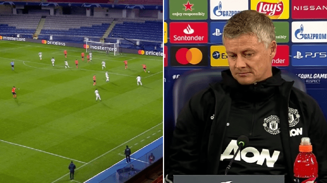 Ole Gunnar Solskjaer tries to explain why Demba Ba was left unmarked in comical Manchester United defending