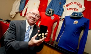 Nobby Stiles died last week aged 78 after suffering from prostate cancer and dementia.