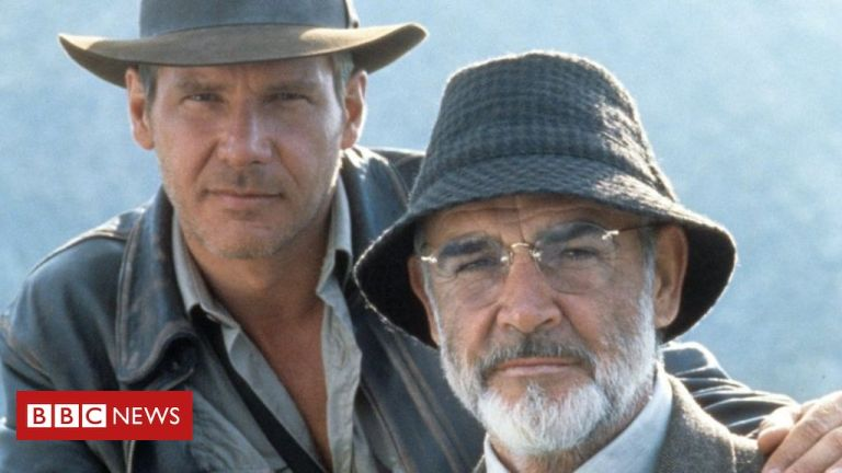 Sean Connery: Harrison Ford pays tribute to 'dear friend'