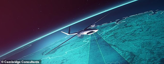 The 5G network is set to take flight, as two UK firms are designing antennae fitted drones that beam the high-speed connectivity from the stratosphere to devices around the globe