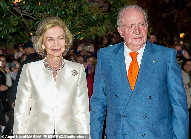 The website's claims have been widely echoed by other Spanish media, which have put a microscope on Juan Carlos' personal life since he fled the country on August 3