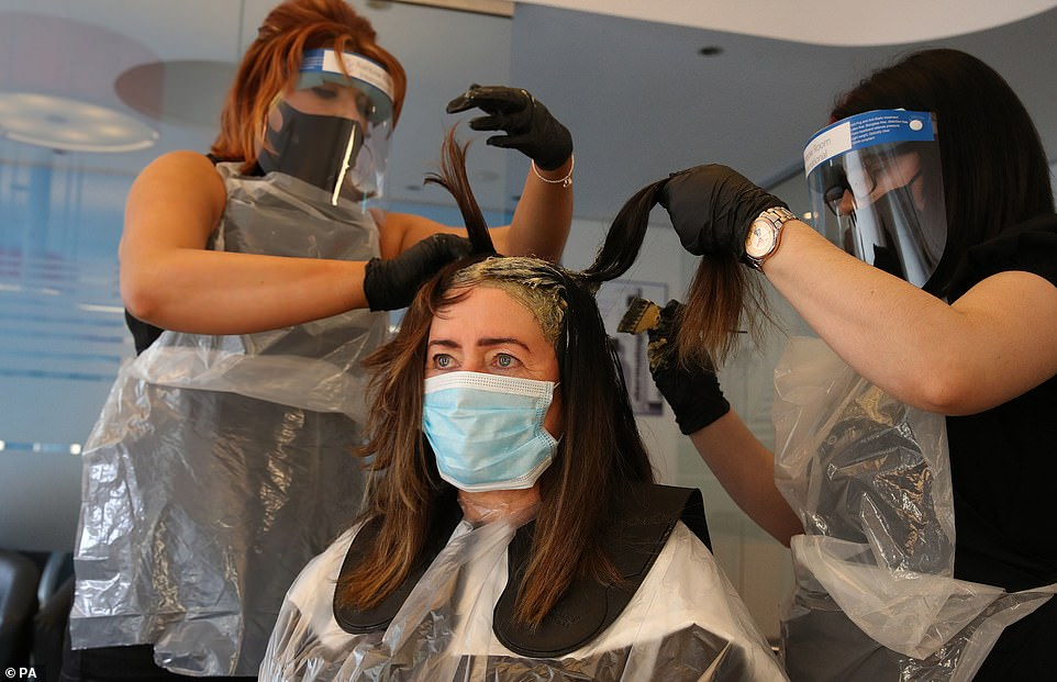 Hairdressers and beauty salons will be shut again, as will massage parlours and tanning salons