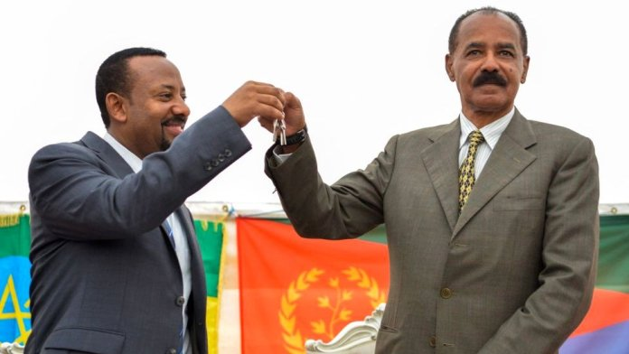 Prime Minister Abiy and President Isaias