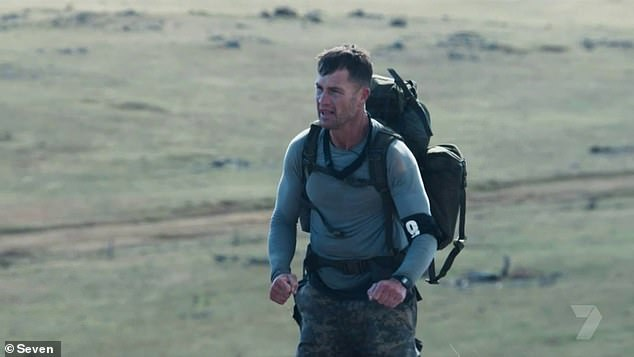 Life or death: During Tuesday's episode, a focus challenge proved to be too much for Shannan and he began to show worrying signs of hypothermia