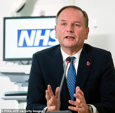 Sir Simon Stevens - NHS England's chief executive - said the move to level four was in response to the 'serious situation ahead'