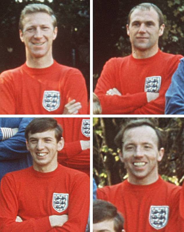Nobby Stiles, Martin Peters, Ray Wilson and Jack Charlton all died with the disease