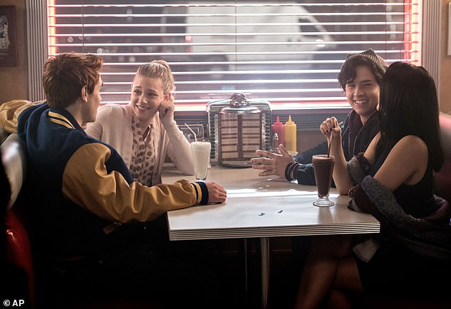 Reunited: The cast of Riverdale, based on the Archie comics, returned to the Vancouver set of their show last month, after COVID-19 forced them to shut down in March