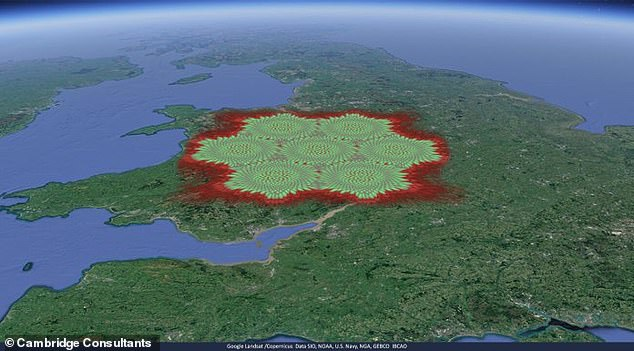 Stratospheric Platforms Limited (SPL) and Cambridge Consultants announced plans to unleash a fleet 65,617 feet above the surface, each of which releases 480 steerable beams to blanket an area with the network - and only 60 are needed to cover the UK