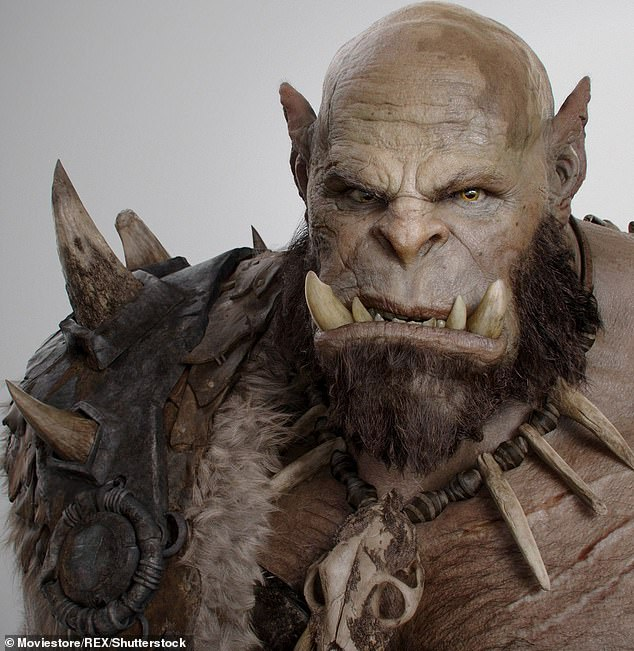 'Orc's' tusks resemble those found on the Orcs in fantasy game series and 2016 film Warcraft