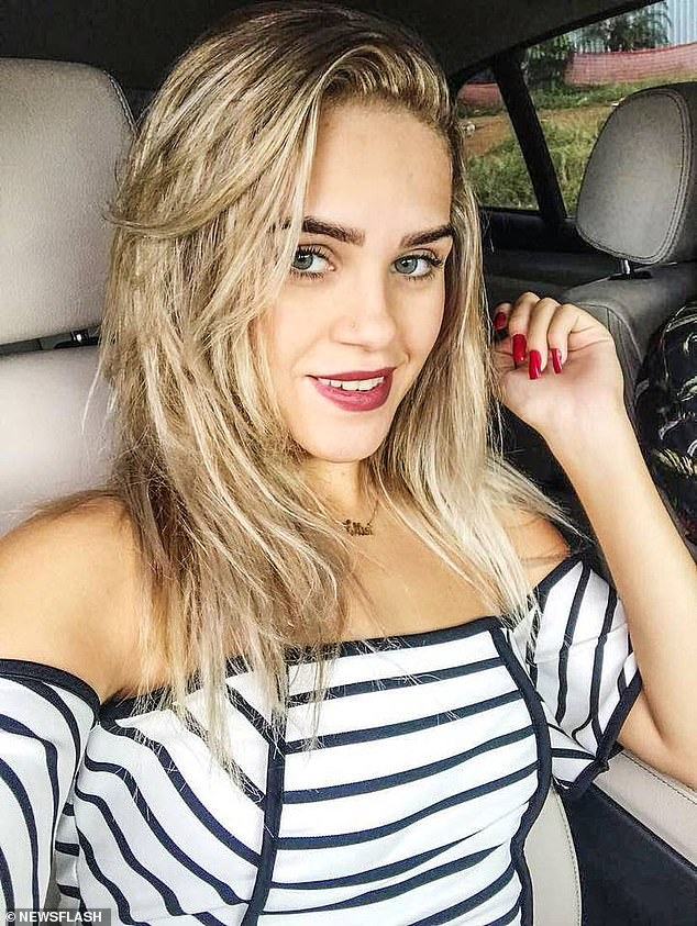 Ellen Priscila Ferreira da Silva was four months pregnant and expecting the child of one of the suspects, a 19-year-old married man, whose wife is also pregnant and along with him confessed to burning the 24-year-old woman alive