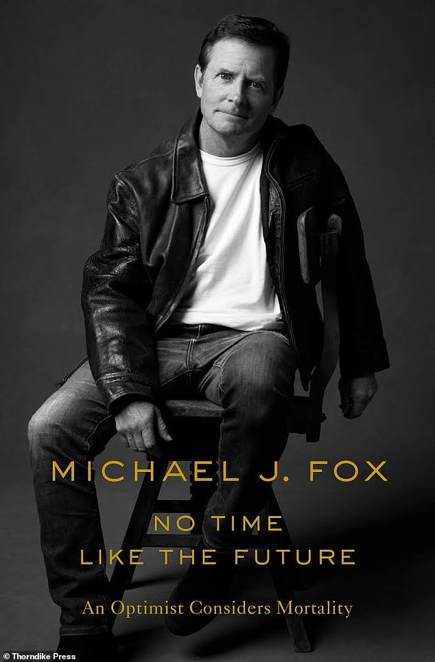 The new tome: His book cover for No Time Like the Future: An Optimist Considers Mortality