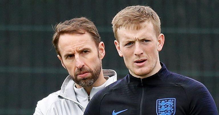 Gareth Southgate details heart-to-heart talks with England No.1 Jordan Pickford