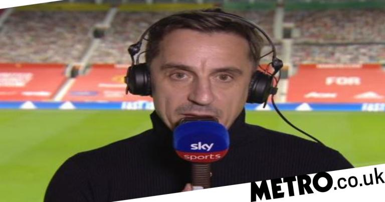Gary Neville highlights Manchester United's 'bad transfer error' after Arsenal defeat