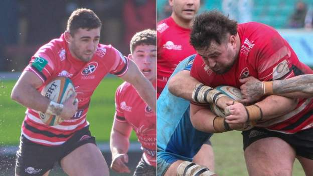 Kyle Moyle & Jay Tyack: Gloucester bring in Cornish Pirates duo on loan