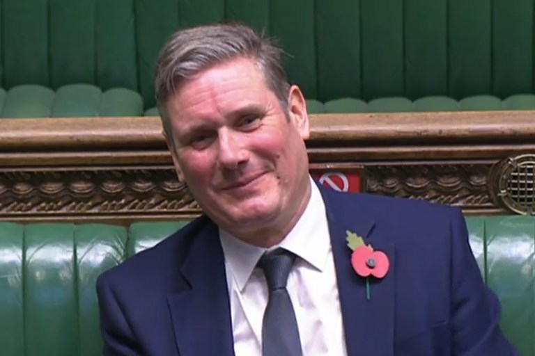 Lockdown should be extended towards Christmas if the r rate is still above 1, Sir Keir Starmer warns