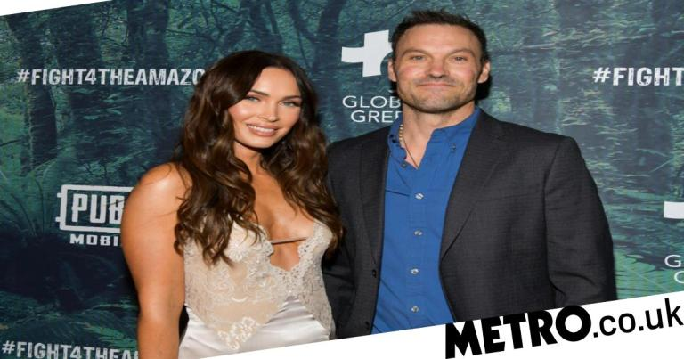 Megan Fox hits out at ex-husband Brian Austin Green after he shares Halloween picture of son Journey