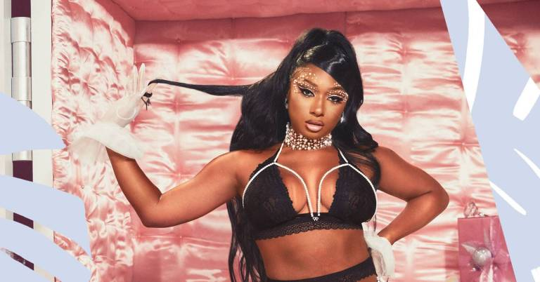 Megan Thee Stallion is UNREAL in the new Savage x Fenty holiday collection