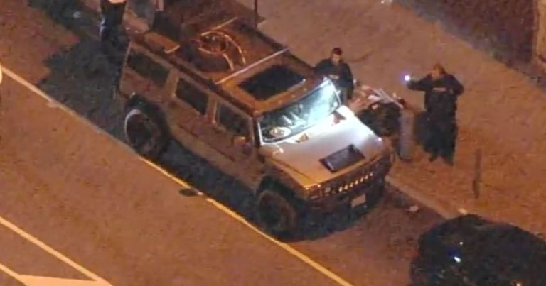 Police find Hummer 'with guns' driven by man on way to 'attack' election centre