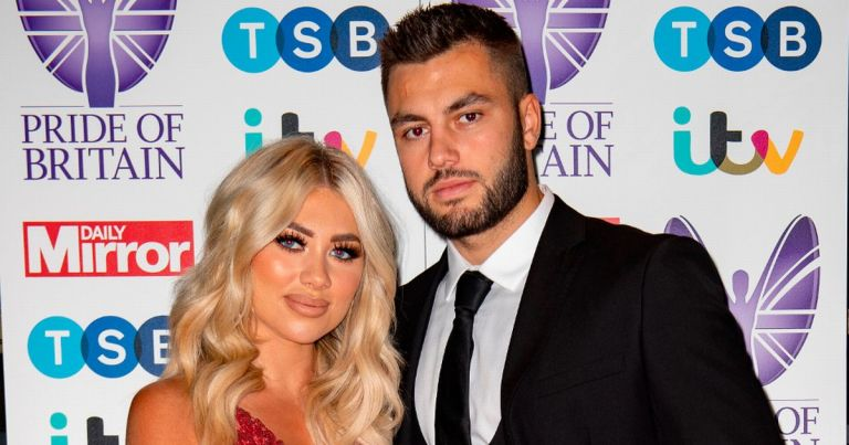 Pride of Britain – Paige Turley hints at proposal as Finn Tapp opens up on step