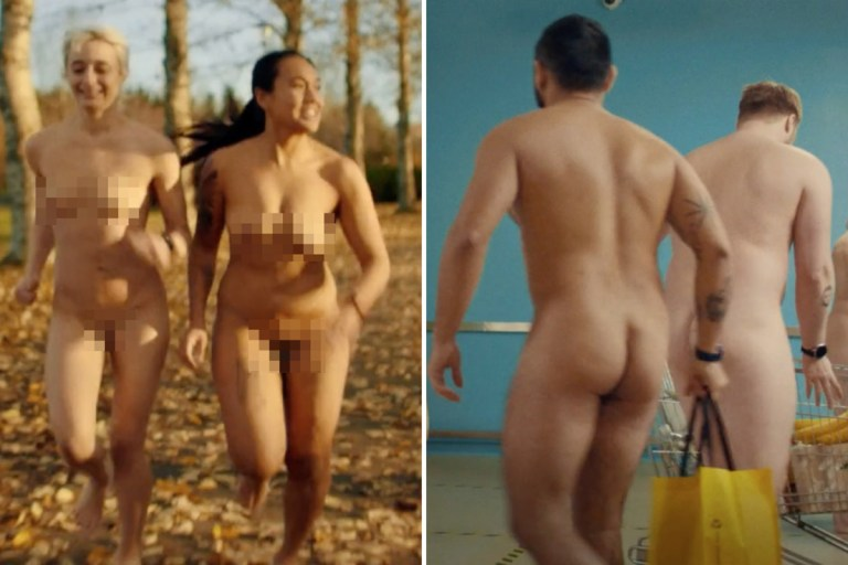 Racy phone advert packed with NAKED actors sets pulses racing on Icelandic TV