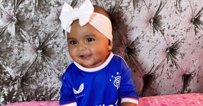 Rangers ace Alfredo Morelos' wife posts adorable snap of daughter in strip