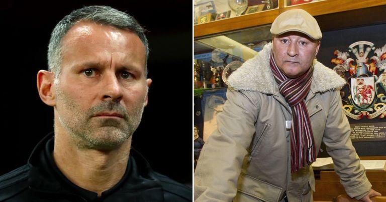 Ryan Giggs' dad backs former Man Utd star over girlfriend row arrest