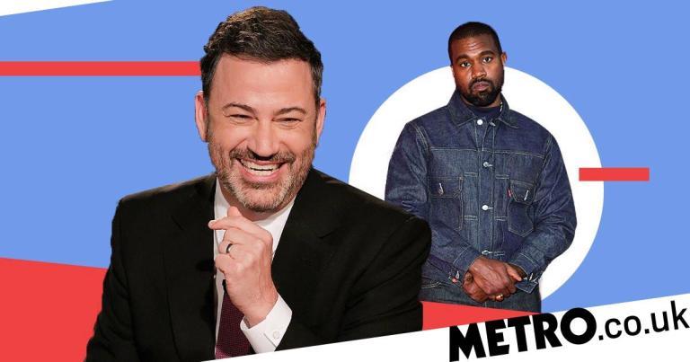 US Election 2020: Jimmy Kimmel jokes Kanye West will 'interrupt' winner's acceptance speech