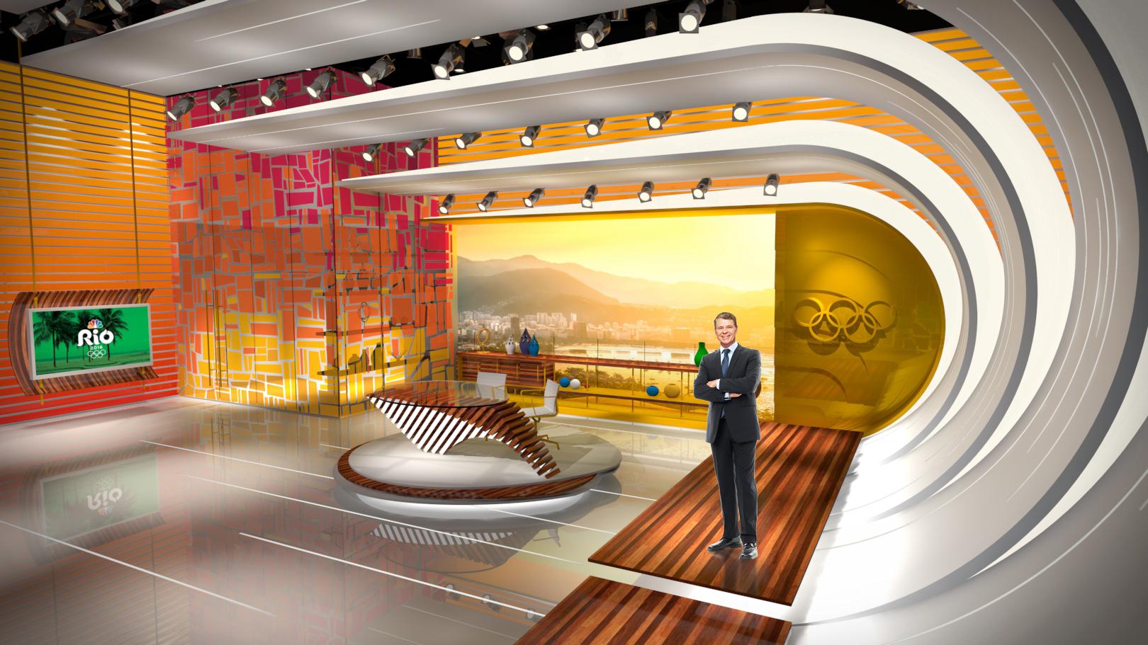 Nbc Rio Olympics Set Design Gallery