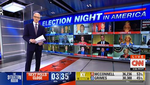 Midterm election coverage sets show restraint - NewscastStudio