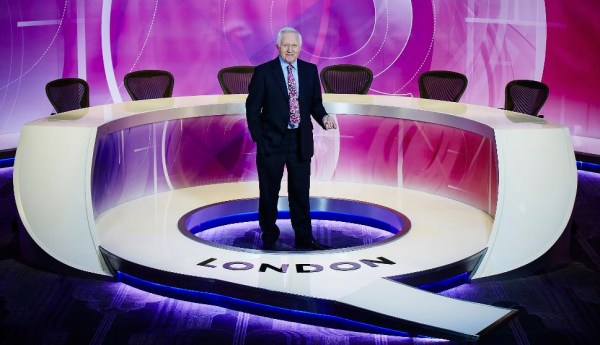 BBC upgrades 'Question Time' set - NewscastStudio