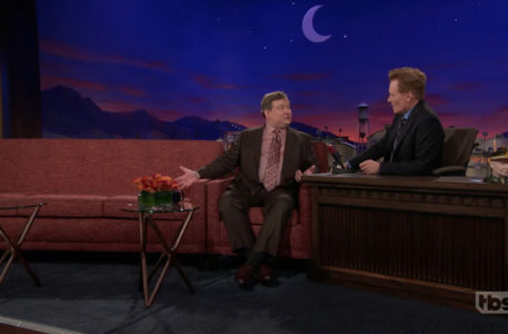Full Moon Sets On Conan As Show Switches To New Set NewscastStudio