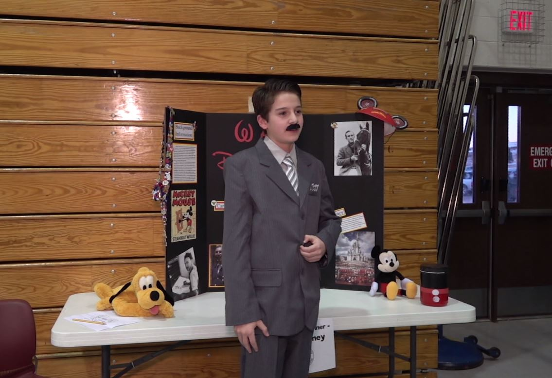 Southwest Middle School Holds Its Annual Wax Museum