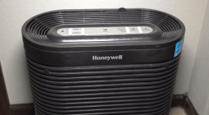 HEPA filter air purification system