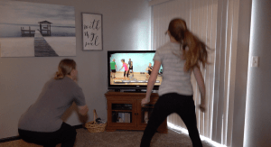 Home video workout