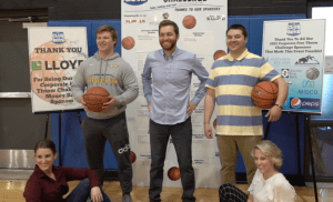 NewsCenter1 crew participates in the Free Throw Challenge