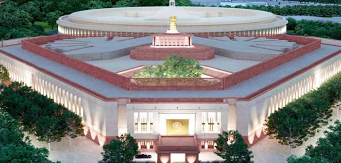 India's new Parliament House Building