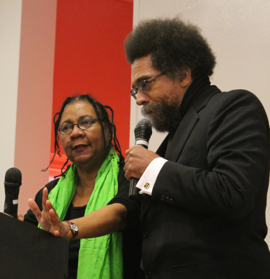 Image result for bell hooks and cornel west