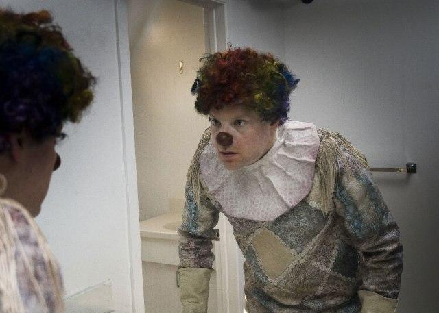 Risultati immagini per clown 2014 film poster italia