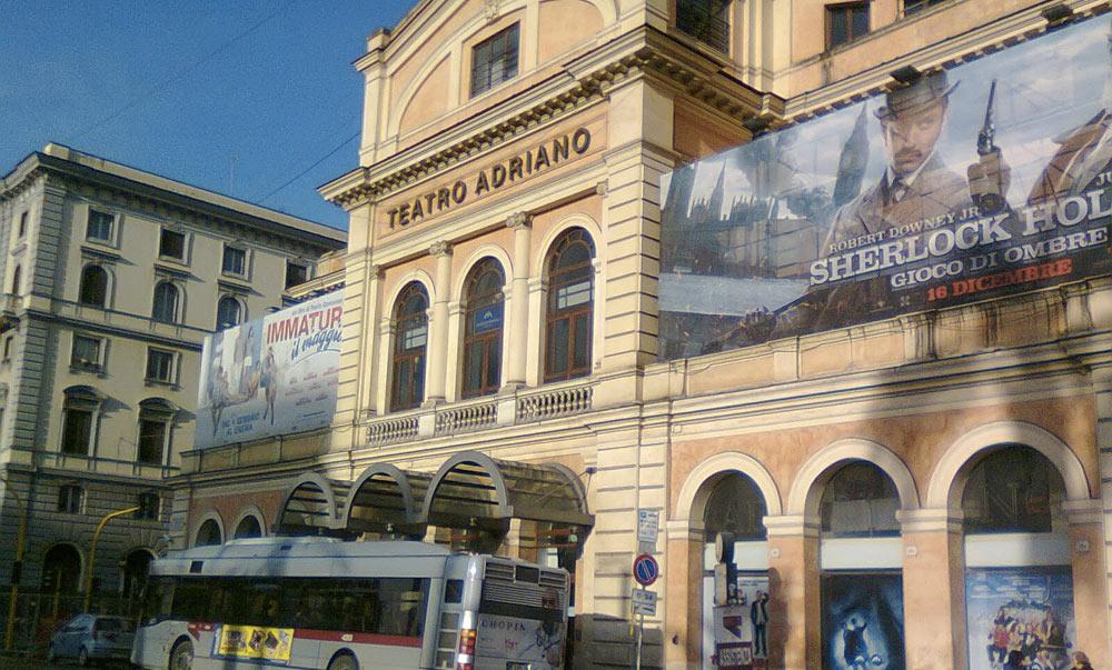 La storia del Cinema Adriano di Roma