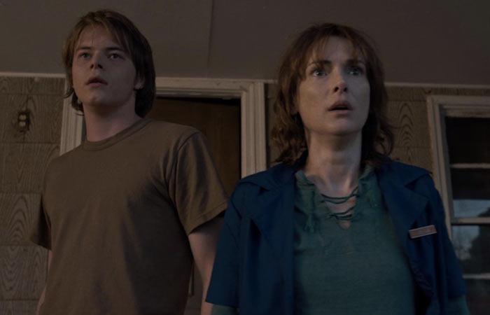 Winona Ryder nella serie tv Stranger Things